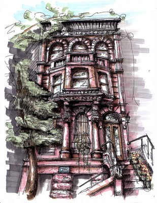 8th Avenue Brownstone